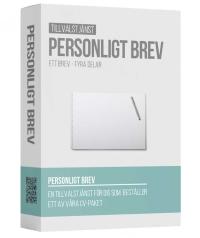 skriva personligt brev