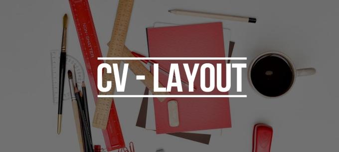 cv layout