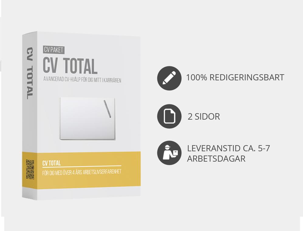 cv total info