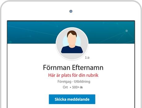 linkedin profil tips